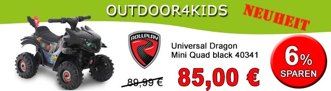 ROLLPLAY Universal Dragon Mini Quad black