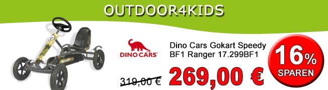Dino Cars Gokart Speedy BF1 Ranger