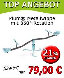 Plum® Metallwippe