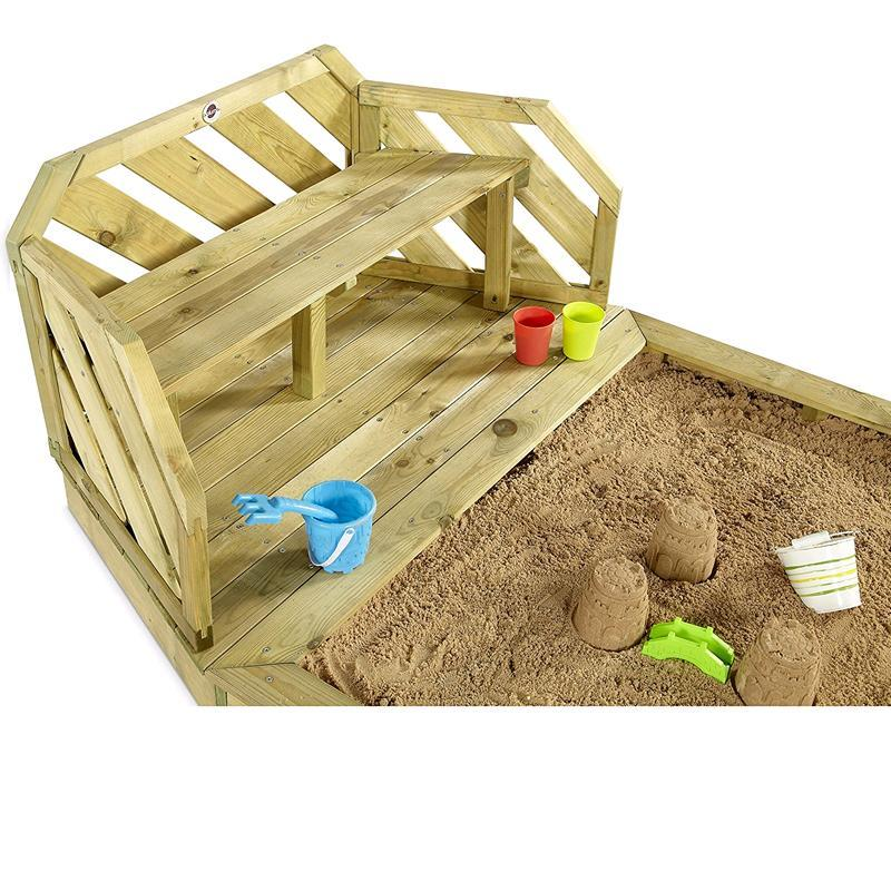 plum sandkasten und bank aus holz 25500 bei outdoor4kids. Black Bedroom Furniture Sets. Home Design Ideas