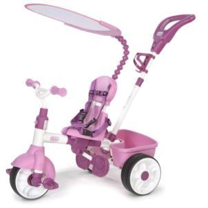 Little Tikes Dreirad 4-in-1 Trike Basic Edition pink 634307E4