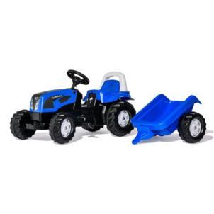 ROLLY TOYS rollyKid Landini Traktor + Anhänger blau 011841