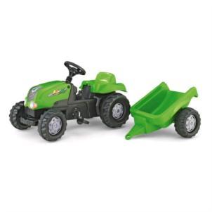 ROLLY TOYS rollyKid-X Traktor + Anhänger grün 012169