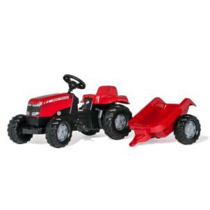 ROLLY TOYS rollyKid MF Traktor + Anhänger rot 012305