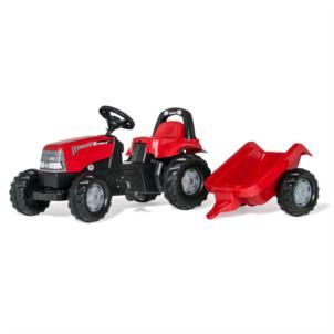 ROLLY TOYS rollyKid Case 1170 CVX Traktor + Anhänger rot 012411