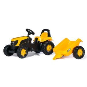 ROLLY TOYS RollyKid JCB + Anhänger gelb 012619