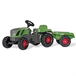 ROLLY TOYS rollyKid Fendt 516 Vario + Anhänger grün 013166