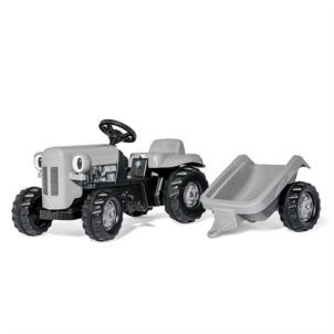 ROLLY TOYS rollyKid Little Grey Fergie Traktor + Anhänger grau 0149541