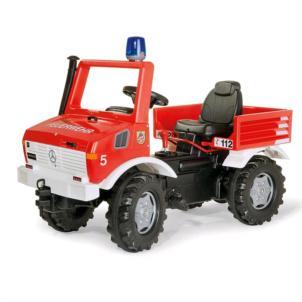 ROLLY TOYS rollyUnimog Feuerwehr rot 036639