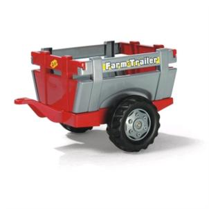 ROLLY TOYS Anhänger rollyFarm Trailer rot/ silber 122097