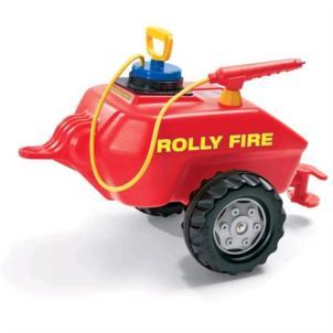 ROLLY TOYS rollyVacumax Feuerwehrlöschanhänger mit Pumpe 122967