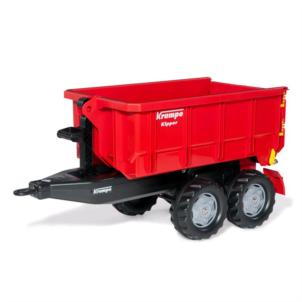 ROLLY TOYS rollyContainer Krampe Hakenabroll-Kipper rot 123223