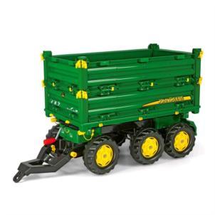 ROLLY TOYS rollyMulti Trailer John Deere Anhänger grün 125046