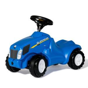 ROLLY TOYS rollyMinitrac New Holland Babyrutscher blau 132089