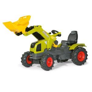 ROLLY TOYS Traktor rollyFarmtrac CLAAS AXOS inkl. Frontlader & Luftbereifung 611072
