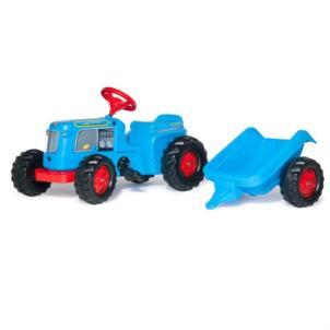 ROLLY TOYS Traktor rollyKiddy Classic inkl. Anhänger blau 620012
