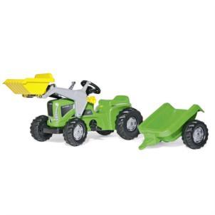 ROLLY TOYS rollyKiddy Futura inkl. Lader und Anhänger grün 630035