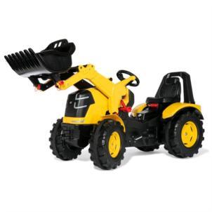 ROLLY TOYS Traktor rollyX-Trac Premium CAT inkl. Frontlader gelb 651115