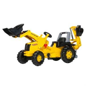 ROLLY TOYS rollyJunior NH Construction inkl. Frontlader und Heckbagger 813117