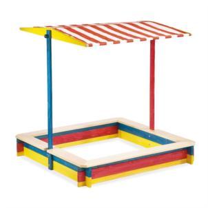PINOLINO Sandkasten Lukas mit Dach 211020
