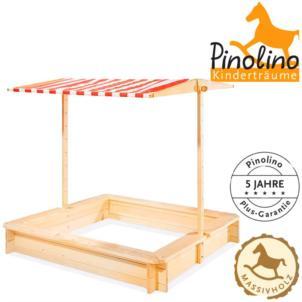 PINOLINO Sandkasten mit Dach Leonie 211083
