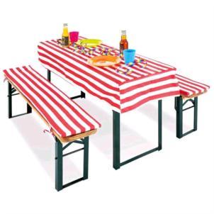 Pinolino Polsterauflagen für Kinderfestzeltgarnitur Sepp 2-tlg. 206067