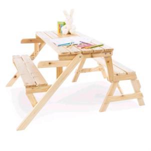 Pinolino 2 in1 Kindersitzgarnitur und Gartenbank Elli massiv 201351