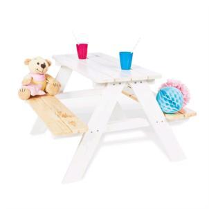 PINOLINO Kindersitzgarnitur Nicki für 4 weiß 201611