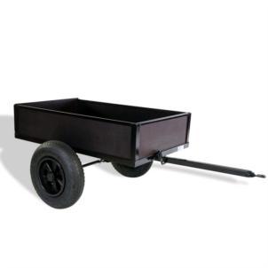Dino Cars Kippanhänger schwarz 02141