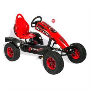 Dino Cars Gokart X-Trail BF1 schwarz/ rot 57.270BF1