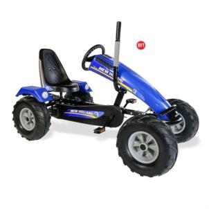 Dino Cars Gokart Track BF1 New Holland blau 57.910BF1