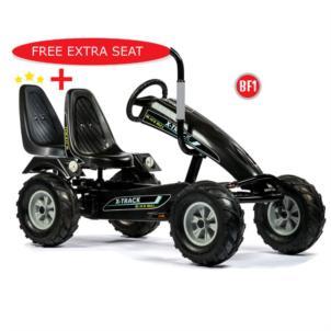 Dino Cars Gokart Track Black BF1 Bull 57.960BF1 + gratis Soziussitz 0307