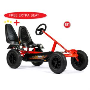 Dino Cars Gokart Sport BF1 rot 57.100BF1 + Soziussitz 0307 gratis