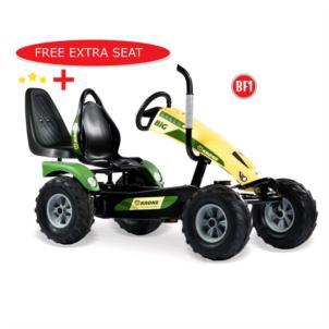 Dino Cars Gokart Track BF1 Krone Big inkl. Rundumleuchte orange 57.980 BF1 + gratis Soziussitz 0307
