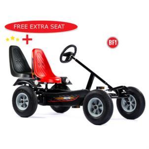 DINO CARS Gokart Sport BF1 schwarz 57.210BF1 + gratis Sozuissitz 0307