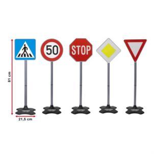 JAMARA Traffic-Set-Grand A Verkehrsschilder 5tlg 460257