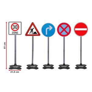 JAMARA Traffic-Set-Grand B Verkehrschilder 5tlg 460293