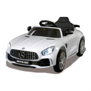 JAMARA Ride-on Mercedes-AMG GT R weiß 2,4GHz 12V 460362