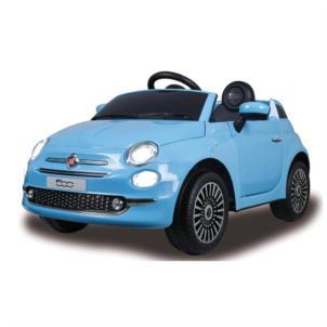 JAMARA Ride-on Fiat 500 blau 12V 460444