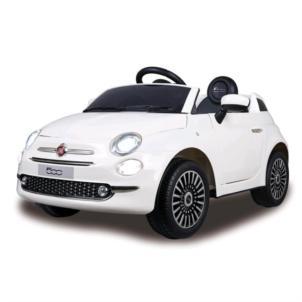 JAMARA Ride-on Fiat 500 weiß 12V 460445