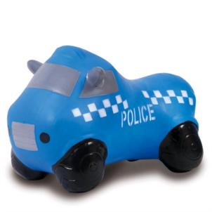 JAMARA Hüpfauto Police Truck mit Pumpe 460455