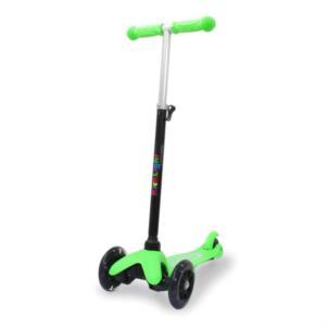 JAMARA KickLight Scooter grün 460495