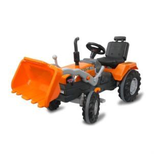 JAMARA Trettraktor mit Frontlader Power Drag orange 460815