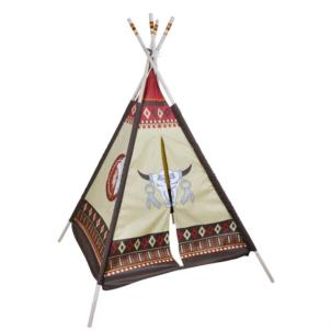 Knorrtoys Indianer Tipi Spielzelt 1,80m hoch 130cm Ø 55900