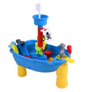 KNORRTOYS Sand- und Wassertisch Piratenschiff 57051