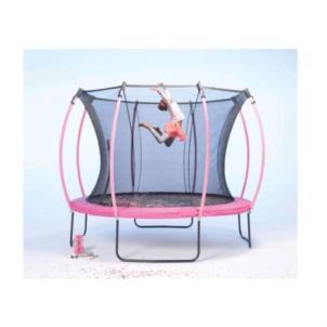 Plum® Colours Springsafe Trampolin Ø305cm Flamingo Pink/Tropic Türkis 30267