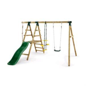 Plum® Meerkat Schaukelset aus Holz 27020