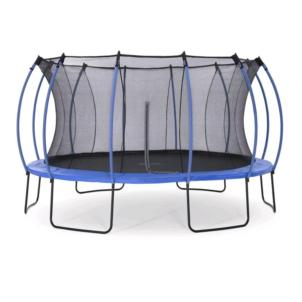 Plum®Colours Springsafe Trampolin Ø426cm snorkel blue/citrus lime 30258