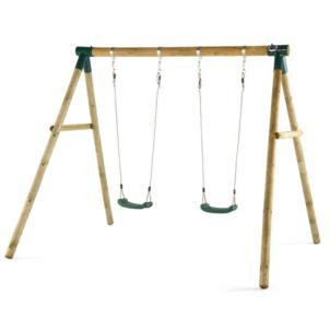 Plum® Marmoset Holz-Doppelschaukel 27009