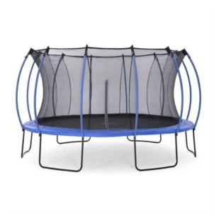 Plum® 426cm Colours Springsafe® Trampolin mit Netz, blau 30276
